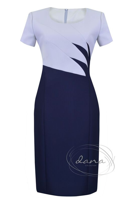sukienka- Aldona- granat