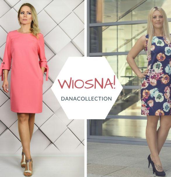 Sukienki polskich producentów. Kwieciste wzory na wiosnę